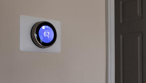 smart thermostat for home temperature control