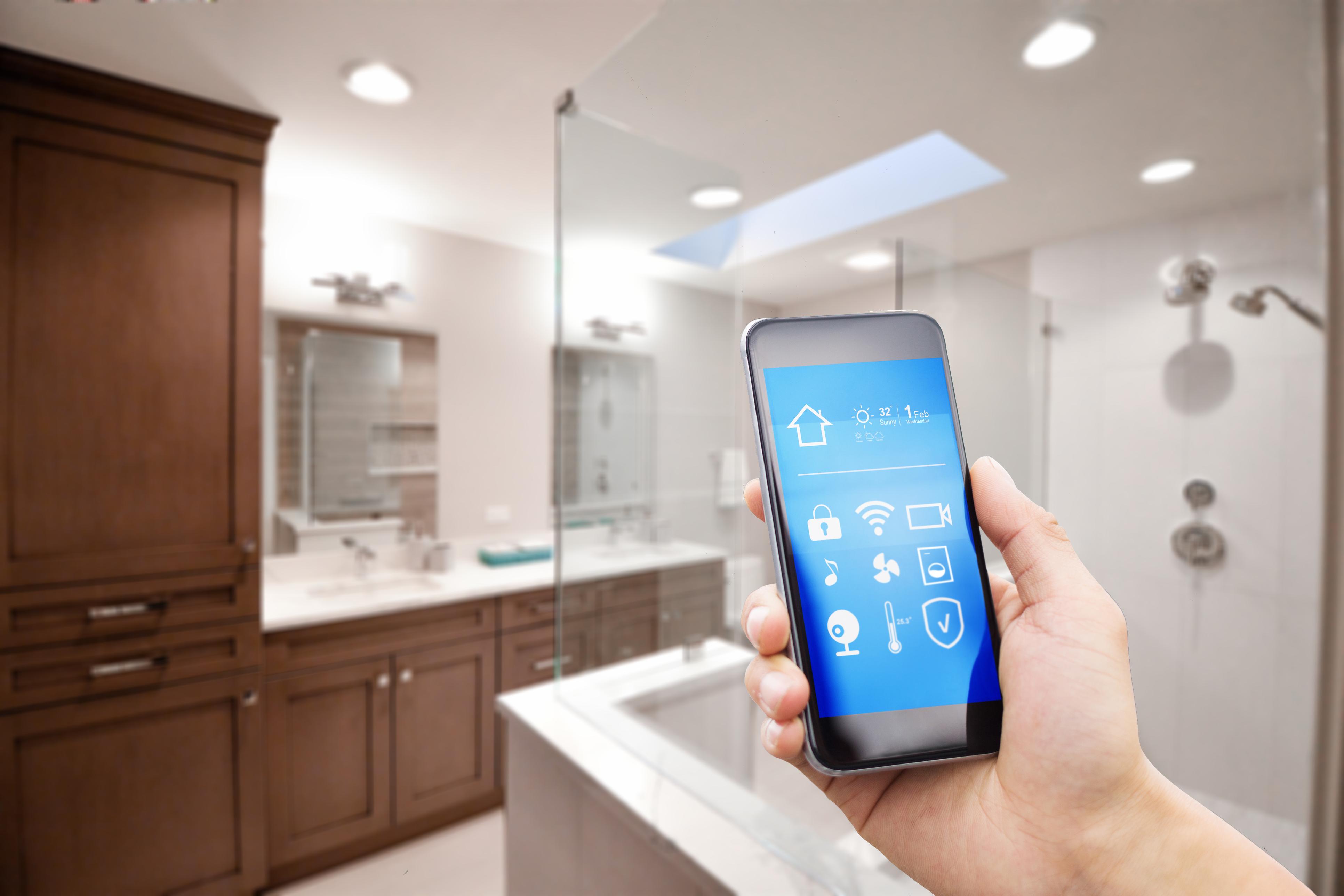 Smart Bathroom Integration -  Smart Home Applications